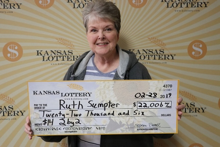 Ruth Sumpter wins $22,000